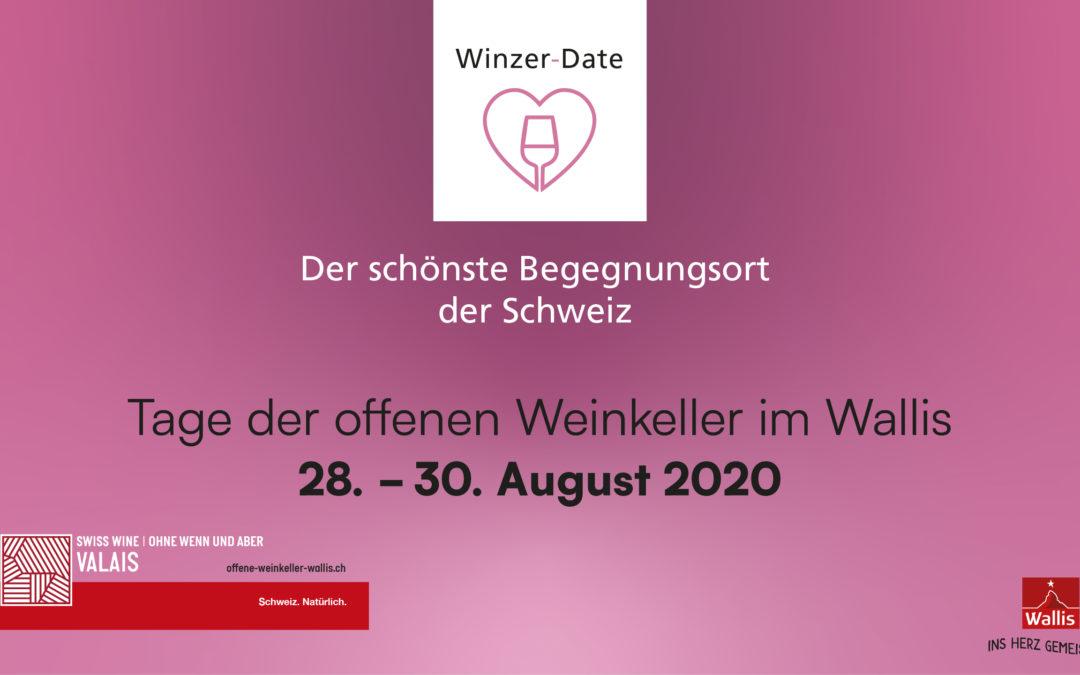Tage des offenen Weinkeller im Wallis