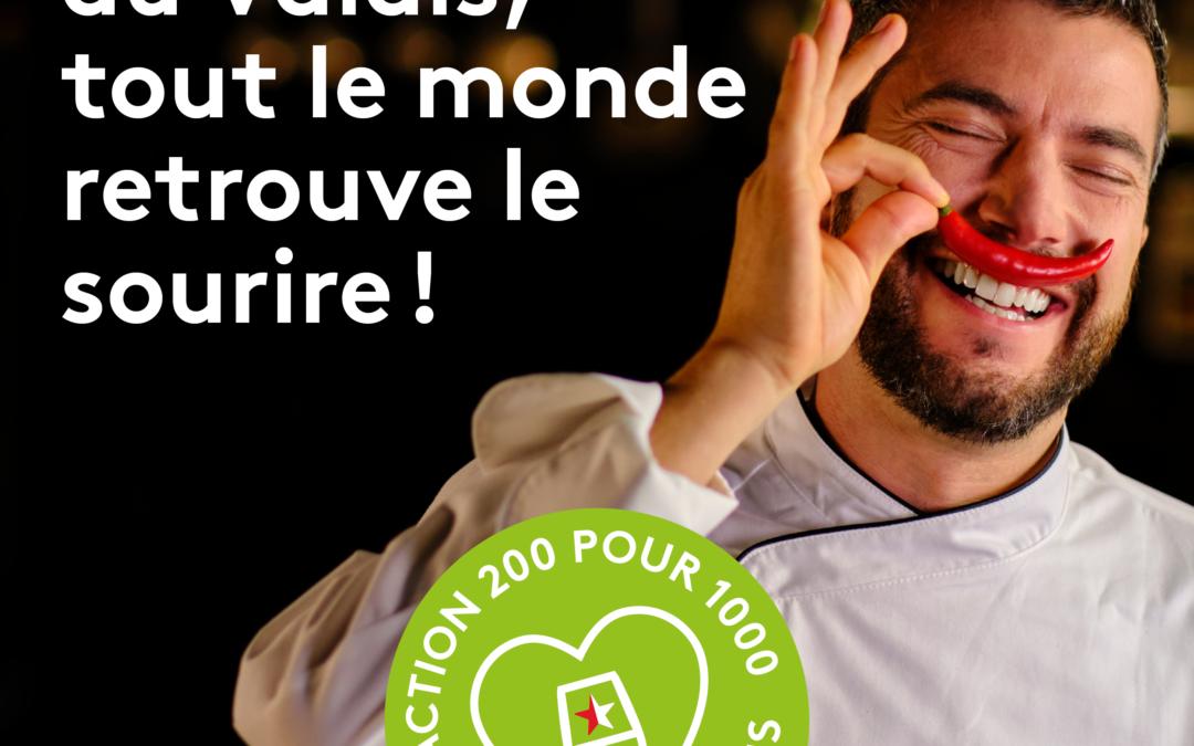 Pour Hôtellerie-Restaurant Action 200 pour 1000