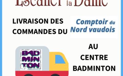 Livraison Comptoir du Nord Vaudois